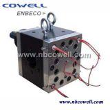 ゴム製押出機の機械装置のためのギヤ溶けるポンプ