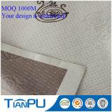 Tela que hace punto para el estándar de Oeko Tex 100 de la cubierta de colchón de la espuma