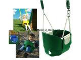 Alto asiento completo posterior del oscilación del niño del compartimiento con los encadenamientos revestidos plásticos - accesorios determinados del oscilación