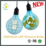 Lámparas decorativas de la bombilla de la cadena de la bombilla del LED G40/G125