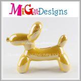 新しいデザイン気球犬の陶磁器の銭箱