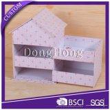 Горячая продавая ручка нося коробку подарка розовых ювелирных изделий упаковывая