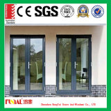Легкая установленная подгонянная дверь Casement размера алюминиевая