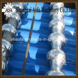 Roulis ondulé en acier galvanisé de tuile de toiture de feuille de couleur formant la machine