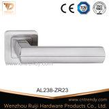 Ручка рукоятки двери самого нового цинка мебели алюминиевая на Escutcheon (AL238-ZR23)