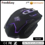 パソコンのためのUSBによってワイヤーで縛られるLEDによってバックライトを当てられる賭博Mouses