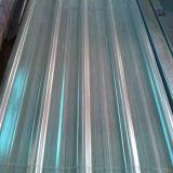 Folhas plásticas onduladas da telhadura do policarbonato transparente