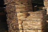 """suelo inacabado sólido de la madera dura de la nuez de Asia del acacia 5 """" *3/4 """""""