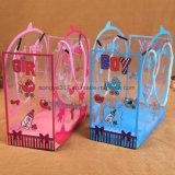 PVCハンドバッグのギフト袋の三次元赤ん坊はギフト袋を供給する