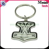 OEM Promotion Custom Metal Alloy Antique Plaated Name Keychain