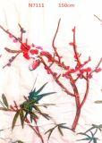 Tissu de lacet de broderie de maille de fleur pour rectifier de dames