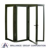 Portas de alumínio exteriores usadas padrão australianas para a venda