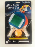 Glow Rubber and Wood Set de tennis de table en raquettes de table