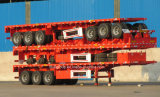 20FT 40FT 3 Axles Flat Bed Semi Trailer