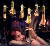 1W 2W 4W 6W C35 Ambar LED bombillas de filamento E12 E14 E17 E27