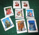 고객 Designes 부지깽이를 가진 Playingcards