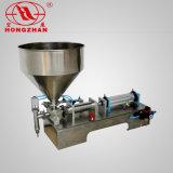 Tipo horizontal máquina de rellenar líquida manual de la alta calidad caliente de la venta