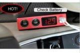 C20t車GPSのロケータの追跡者の追跡者Googleのマップの追跡と置く盗難防止車のタバコのライターGPS GSM+GPS