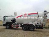 Sinotruk HOWO 6X4 8m3 10m3の具体的なミキサータンクトラック