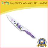 Chef d'acier inoxydable de traitement de la catégorie comestible pp/couteau de fruit avec estampé