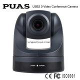 Mini appareil-photo de conférence de PTZ USB pour l'objectif zoom optique de Skype CMOS 10X (OU100-D)