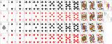Cartões de jogo de papel de anúncio australianos do póquer para a promoção