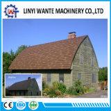 Da pedra bonita da cor da aparência do baixo preço telha de telhado revestida do metal