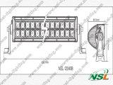 Barra chiara di pollice 120W LED di prezzi di fabbrica 20 fuori dall'azionamento della barra chiara 12V della strada LED