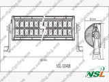 Barre d'éclairage LED de la vente 21 Inch120W d'usine, outre de barre automatique d'éclairage LED de la barre 12V d'éclairage LED de route