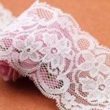 Guarnição do laço do Crochet da venda por atacado de China para o vestido de casamento das senhoras