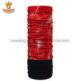 De kleurrijke Polaire Sjaal van de Vacht paste Afgedrukte Bandana aan