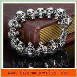 De Armbanden van de Juwelen van de hete Mensen van de Armband van de Schedel van het Roestvrij staal (BL2822)