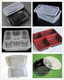Vacío de la bandeja del caso de empaquetado plástico que forma la máquina del fabricante