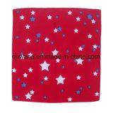 Bandana all'ingrosso poco costoso del fazzoletto rosso del cotone