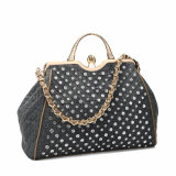 Saco luxuoso da senhora Tote do Rhinestone do estilo (MBNO040034)