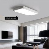 Luz moderna ligera de acrílico teledirigida de la lámpara del techo del RF SMD Dimmable LED para el dormitorio