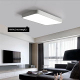 RF 침실을%s 원격 제어 아크릴 가벼운 현대 정연한 Dimmable LED 천장 램프 빛