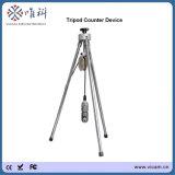 Imperméabiliser la barre jusqu'à 10 appareil-photo Rotative d'inspection de puits d'eau d'appareil-photo de puits profond de 360 degrés avec le compteur de profondeur