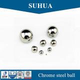 Esferas à terra chapeadas prata da precisão G100 das esferas 10mm