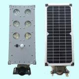 Nuovo indicatore luminoso di via solare integrated di 9W LED con il sensore di movimento