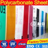 Feuille colorée matérielle de polycarbonate importée par 100%