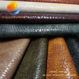 浮彫りにされたパターンが付いている総合的な革(FSB16D21A)の高品質袋材料