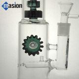 Tubulação de água de vidro para fumar (AY008)