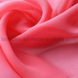 Tissu 100% Chiffon de polyester pour Madame Garment Fabric