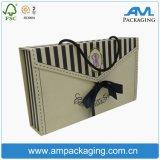 Maniglie impaccanti della scatola di cartone della biancheria che piegano casella per vestiti