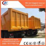 20wheels 5axles 60tons 탄광 적재 능력 무거운 덤프 트럭