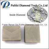 scherpe Steen van het Segment van de Sandwich van de Hulpmiddelen van de Diamant van de Zaag van 1200mm de Grote Stevige