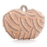Повелительница мешка сумка вечера кристаллический перлы Rhinestone способа Beaded