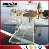Vidrio/madera contrachapada/etapa de acrílico del precio de fábrica de la danza del LED