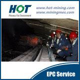Низкое минирование шва угля Longwall